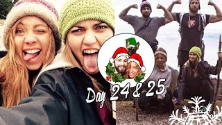 Christmas Eve & Christmas Day in the Mountains! ❄ Vlogmas 24&25 Thumbnail