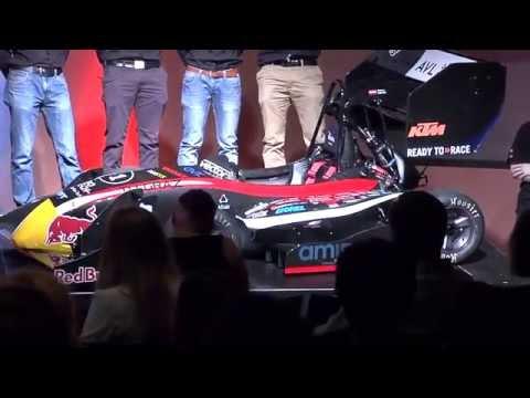 TU Graz Racing Team Roll Out 2015 Livestream