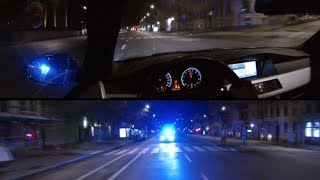 HIGHWAY 3 (Part 2) BMW E60 V10 M5 Police chase in Stockholm [HD]