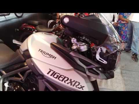Triumph and Ducati bikes collection India