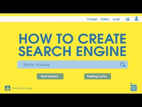 how to create a search engine like google, bing , yahoo in just 5 minutes? (without coding)