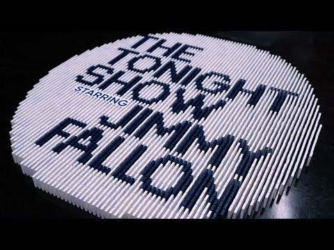 Dominoes on the TONIGHT SHOW STARRING JIMMY FALLON