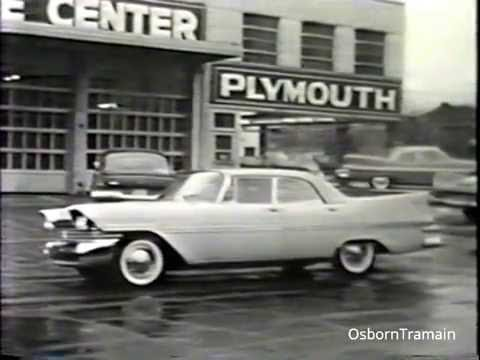 1959 Plymouth Dealer Training Film - The 2 Mile Tryout with  Jack W. Minor