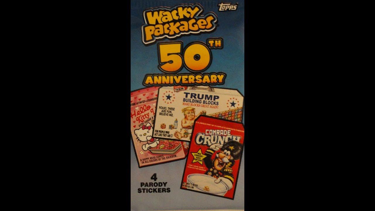 2011 WACKY PACKAGES ANS8 3 CARD BLISTER BONUS SET B1-3