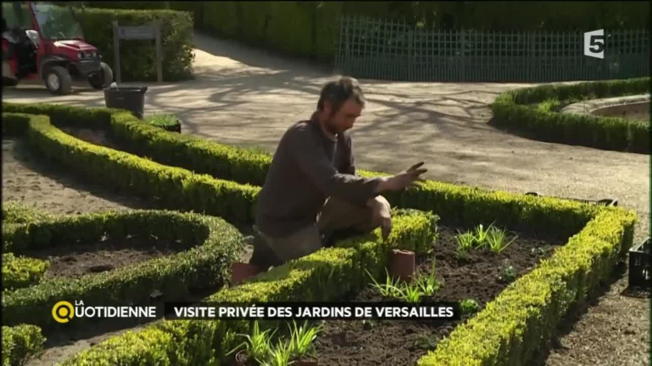 Visite priv e des jardins de versailles youtube - Visite des jardins de versailles ...