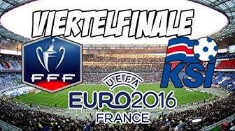 Frankreich - Island | EM 2016 Viertelfinale | Prognose