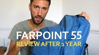 Osprey Farpoint 55 Review - AFTER 1 YEAR