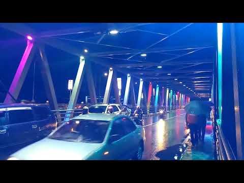 Pesona Jembatan Soehat Kota Malang Saat Malam Hari Youtube