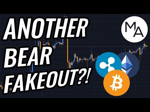 ANOTHER Bear Fakeout In Bitcoin & Crypto Markets!? BTC, ETH, XRP, Cryptocurrency & Stocks News!
