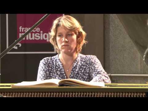 Bach : Prélude et fugue BWV 848,  par Céline Frisch