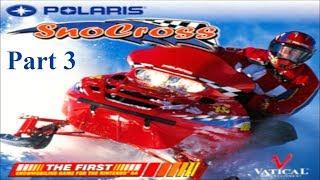 Polaris Snocross (Part 3) Pro Class Practice
