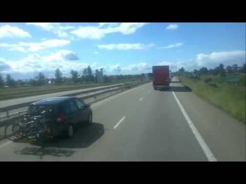 Trucking France countryside
