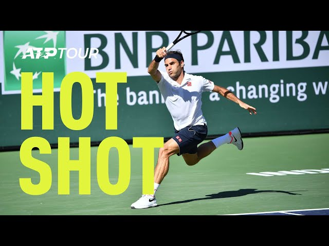 Hot Shot: Federer Brings The Crowd To Their Feet At Indian Wells 2019