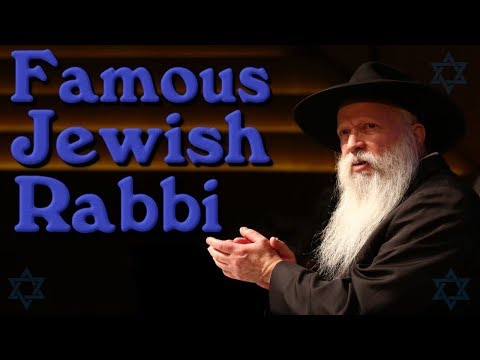 ✡ Israel's Most Famous Jewish Rabbi 🕎 (For ✡ Jewish People Only)