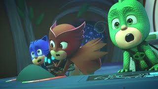 PJ Masks Episode | PJ Masks get trapped in a comet?! 💜 PJ Comet Glowy ⭐️ Cartoons for Kids