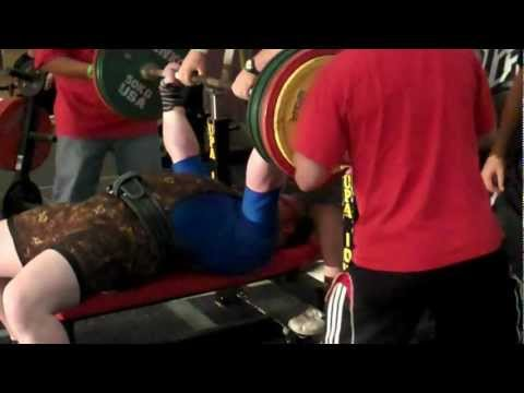 UPA Iron Battle on the Mississippi - Bench - 688 lb (312.5 kg)