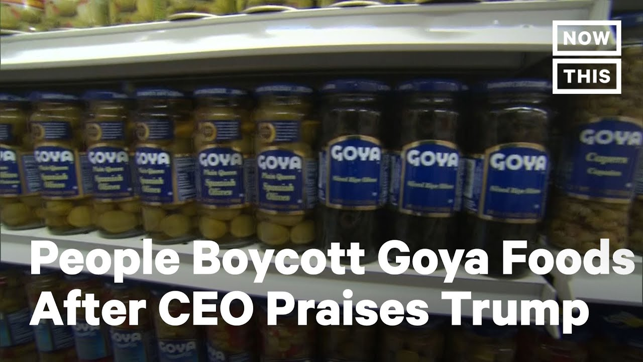 Download Americans Boycotting Goya Foods After CEO Praises Trump | NowThis