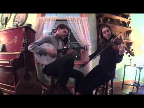 Polly Put The Kettle On - clawhammer banjo & fiddle