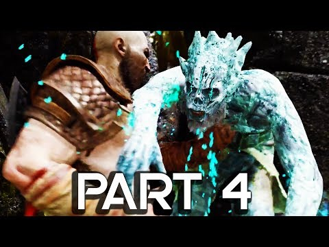 God of War 4 Walkthrough Part 4 - Ghosts & Spirits - GOD OF WAR GAMEPLAY!! (PS4 PRO 60FPS)