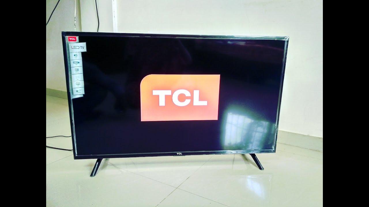 Unboxing Of Tcl 40 Full Hd Led Tv L40d2900 Youtube