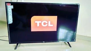 "Unboxing of TCL 40"" FULL HD LED TV  L40D2900"