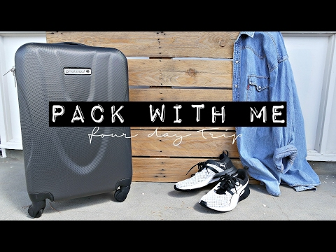 PACK WITH ME • Four Days In Singapore