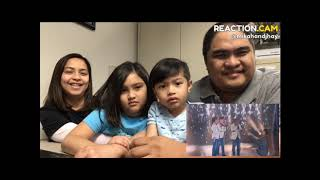 Fam Reacts to Ariana Grande Surprises TNT Boys 'The World's Best