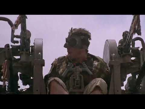 """Банда """"Окурков"""" Нападает На Водный Город ... отрывок из фильма (Водный Мир/WaterWorld)1995"""