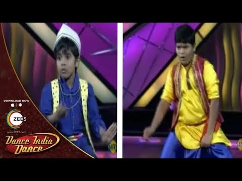 DID Dance Ke Superkids - 9th September 2012 - Ruturaj & Jeet Performance