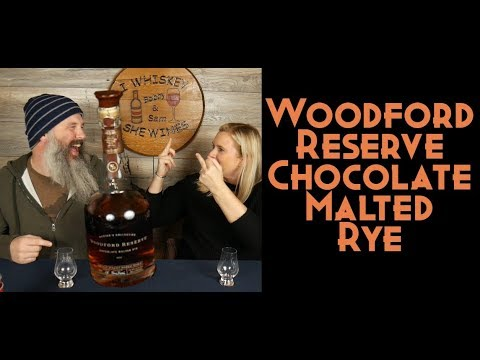 Woodford Reserve Chocolate Malted Rye Bourbon (Master's Collection)