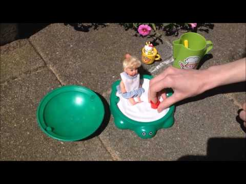511e8ab5e4 Miniature Little Tikes Turtle Sandbox - Let's play with the toys ...