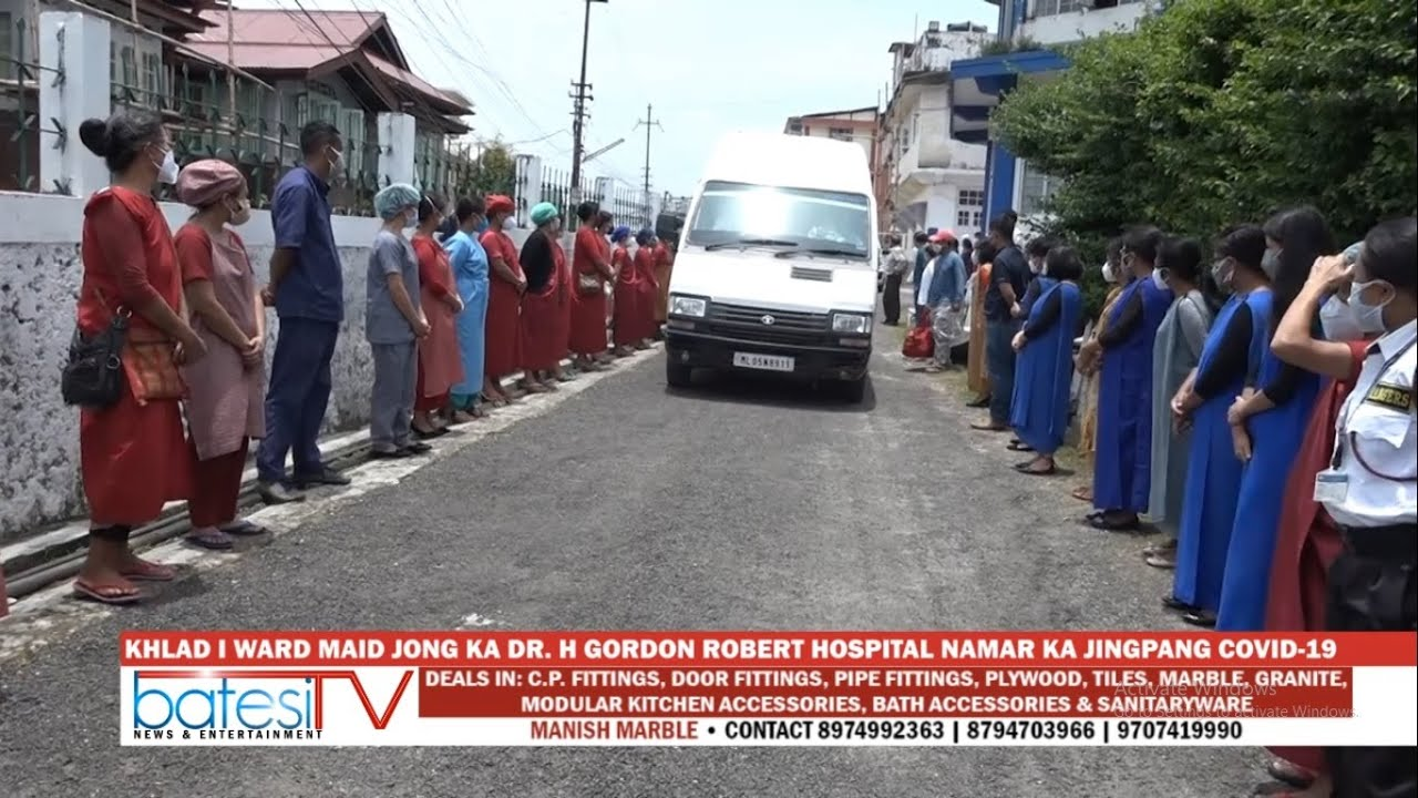Download KHLAD I WARD MAID JONG KA DR.  H. GORDON ROBERT HOSPITAL NAMAR KA JINGPANG COVID 19