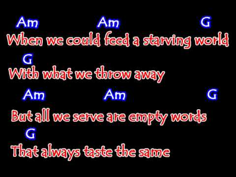Nickelback - When We Stand Together (Guitar Chords with Lyrics)