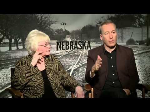 Nebraska (2014) Exclusive June Squibb & Bob Odenkirk Interview