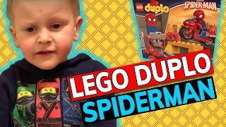 Lego Duplo Spiderman 🕷️beim Spielzeugtester Julian 😂