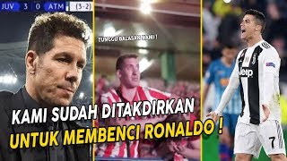 Ronaldo Will Always Be Hated !! When Insulting Atletico Madrid Fans Turns Into Crying
