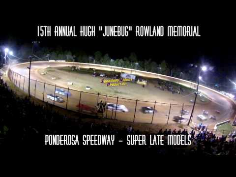 "Ponderosa Speedway ""Track Cam"" Supers Late Models 7-24-15"
