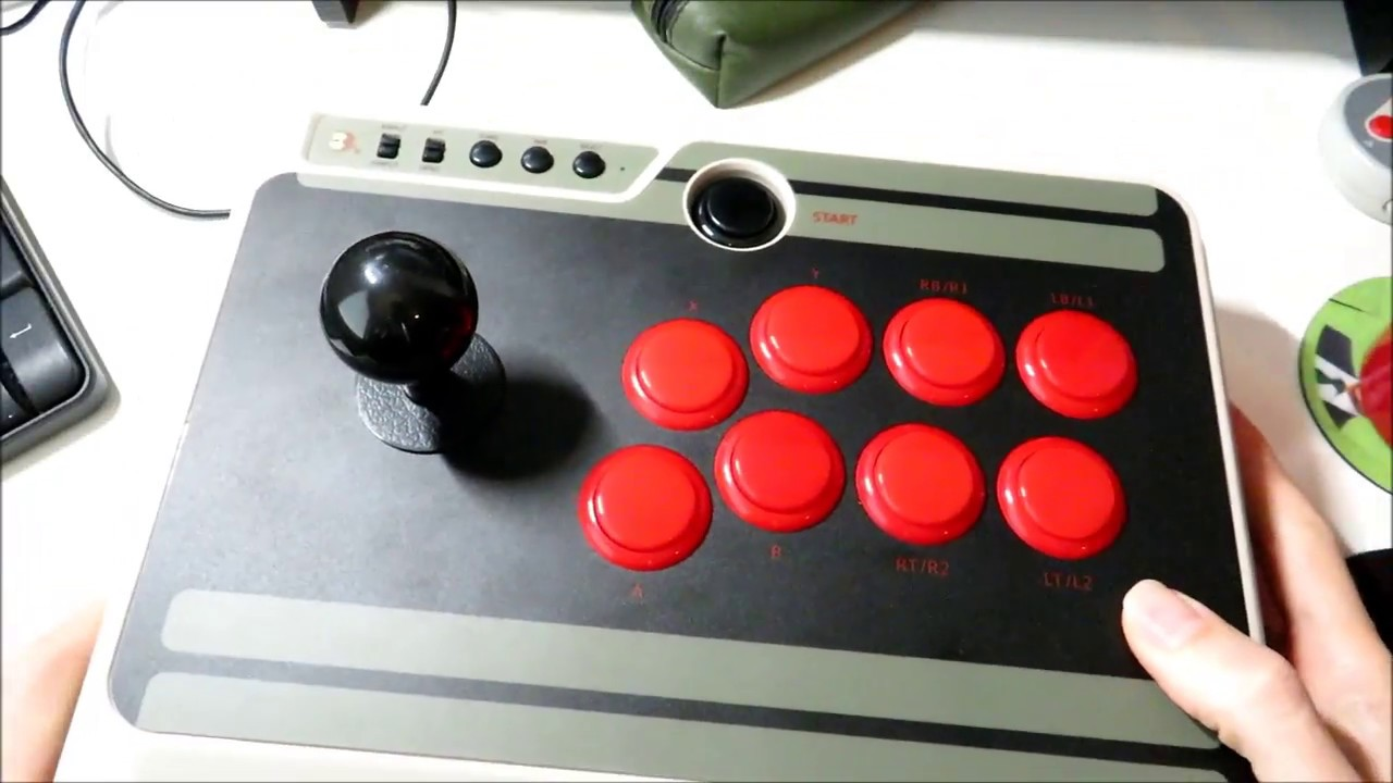 8bitdo n30 arcade stick controller review and tear down