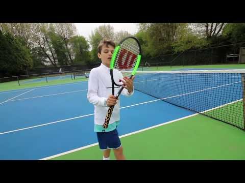 #67 What tennis racket & strings do I use?!  - tB 2017