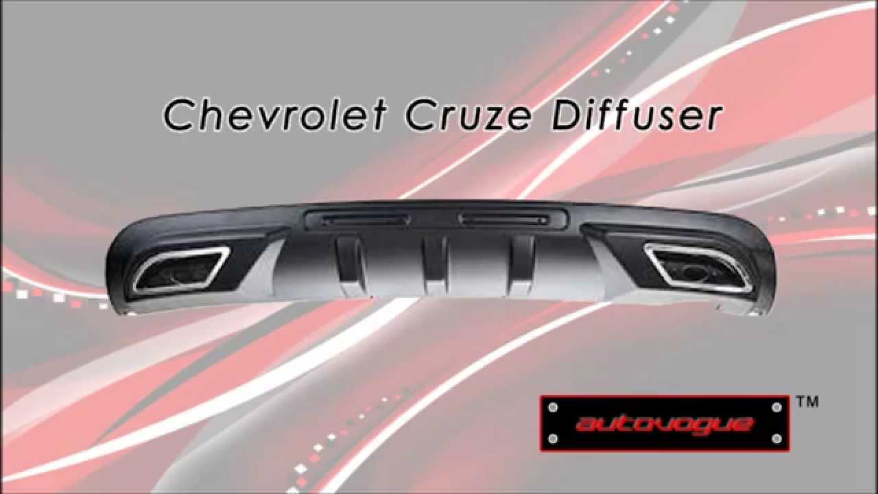 Chevrolet Cruze Rear Diffuser Add Awesome Looks To Your Cruze By Autovogueindia Youtube