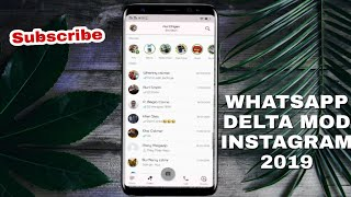 Gambar cover Update GB-Whatsapp Delta versi Instagram 2019 - No Hoaks