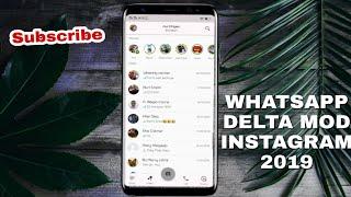 Gambar cover Update GB-Whatsapp Delta versi Instagram 2019 - No Hoaks