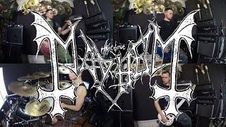 Mayhem - Freezing Moon (full cover)