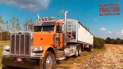 Peterbilt 389 Truck Moving the Corn Harvest 1,000 bu. at a Time