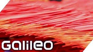 XXL-Räucherstäbchenfabrik in China | Galileo Lunch Break