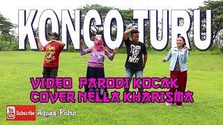 Gambar cover KONCO TURU video parodi kocak Nella kharisma