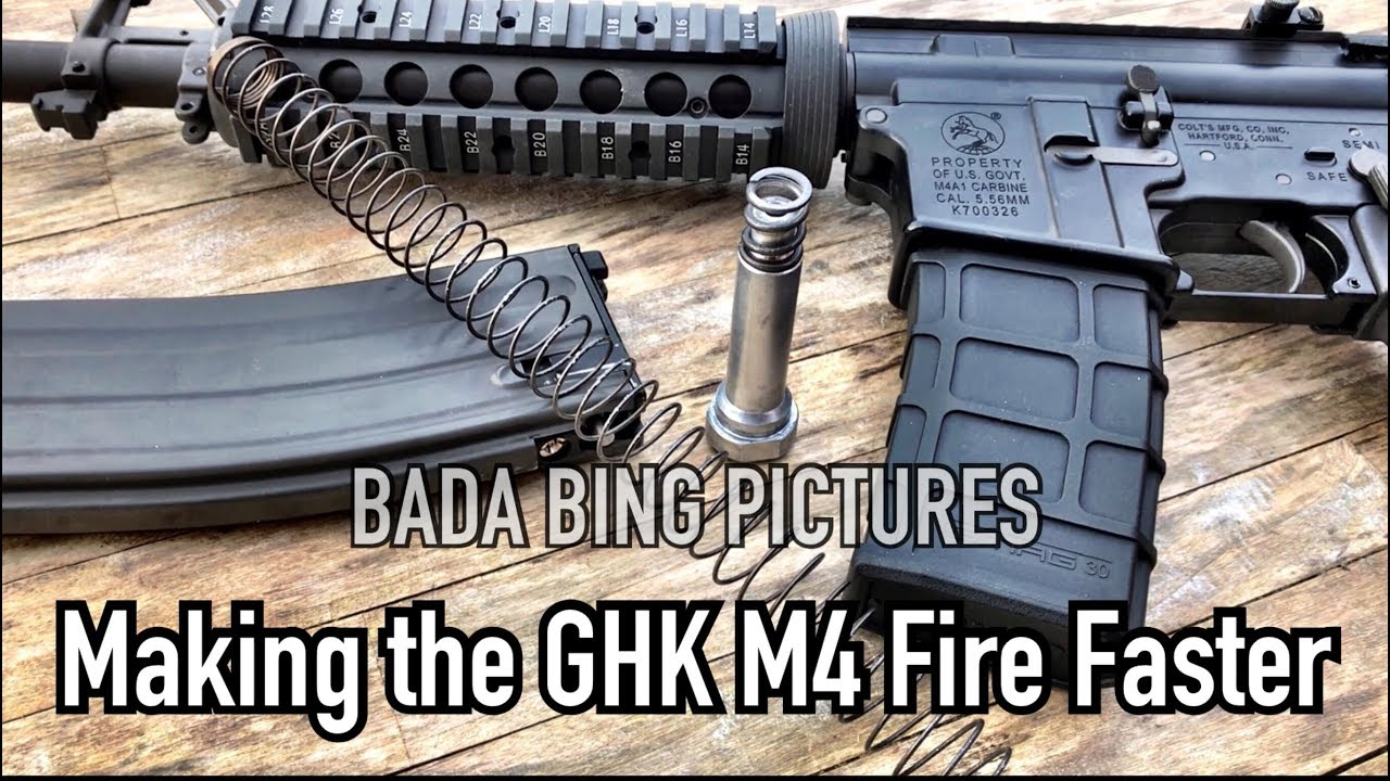 GHK M4 Making it fire faster