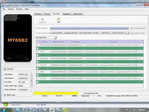 Tutorial Lengkap Flash Android Dengan SP Flash Tool | FunnyDog.TV