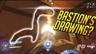Bastion's Drawing? - Overwatch Funny & Epic Moments 303 - Highlights Montage