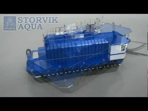 Storvik Aqua Feed Barge 100 t